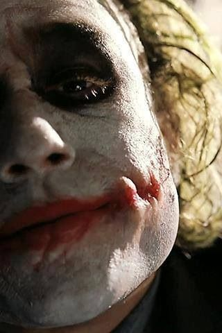 The Joker - Heath Ledger.