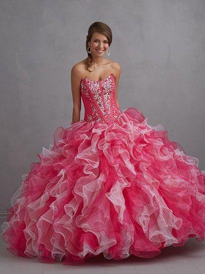 vestidos de 15 años como princesas
