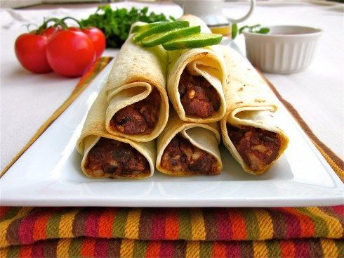 Baked Black Bean Taquitos | Savor every bite with Joan of Arc Beans ...