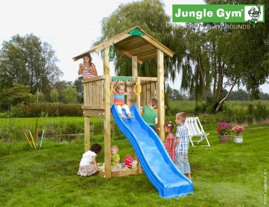 Jungle Casa - The best playareas are outside!  - Jungle Gym #PinToPlay #JungleGym