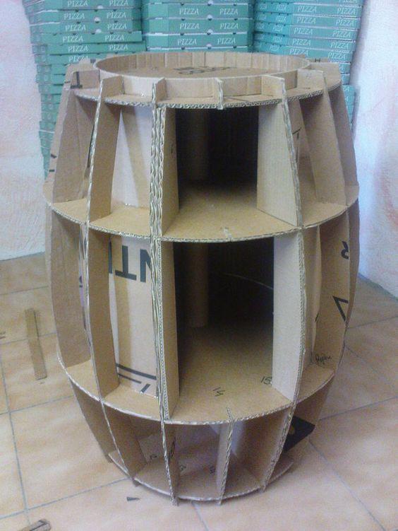416 besten m bel aus karton bilder auf pinterest. Black Bedroom Furniture Sets. Home Design Ideas