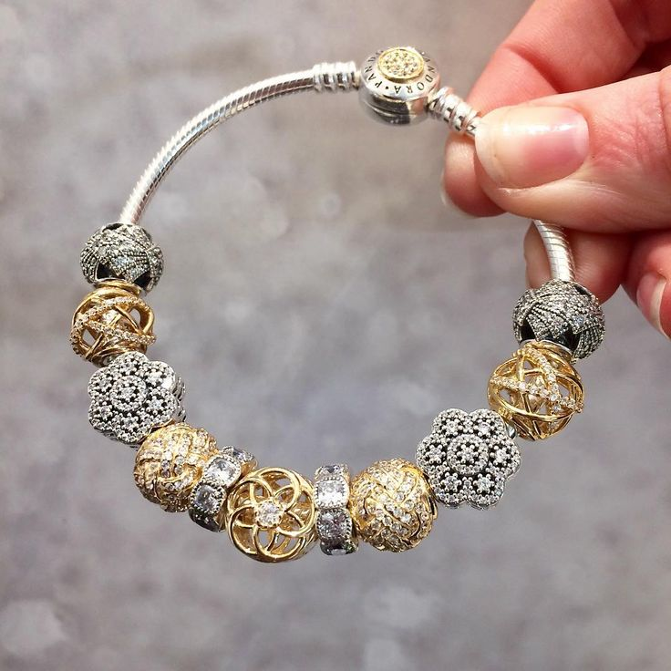 461 best Pandora Gold and Silver images on Pinterest Pandora