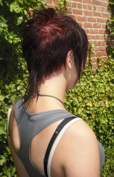 RAT TAIL Hair By Janae Pinterest Mullet Hairstyle