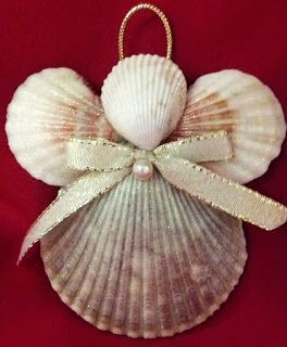 CATHY'S COASTAL CREATIONS: Holiday Seashell Ornament Giveaway | ends 11/15. Enter on the blog!