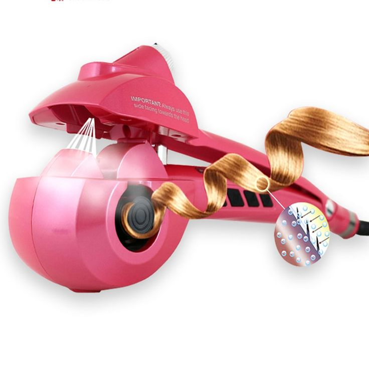 New Upgrade Spray LCD Pro Hair Curler Styler Heating Hair Styling Tools Automatic Hair Curl Magic Hair Curlers Wand EU US Plug
