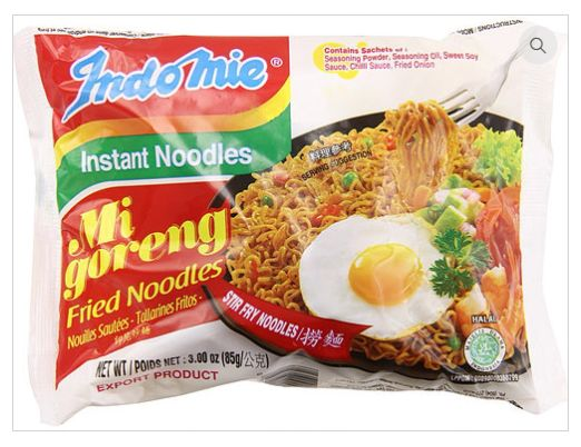 Indomie Mi Goreng instant noodle is the leader of Indonesian instant noodles. People around the world like this noodle because of its delicious taste and many varieties. This instant noodle derived its inspiration from traditional Indonesian dish called mi goreng, a variant of fried noodle common in Indonesia.  Order here http://bit.ly/2hAn0Fx