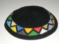 Crocheted Upsherin Triangles Kippah