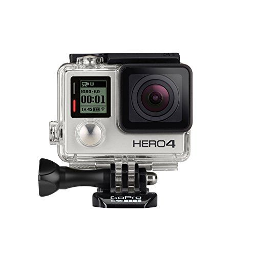 GoPro HERO4 Silver Caméra Embarquée 12 Mpix Ecran tactile Wifi Bluetooth | Your #1 Source for Sporting Goods & Outdoor Equipment