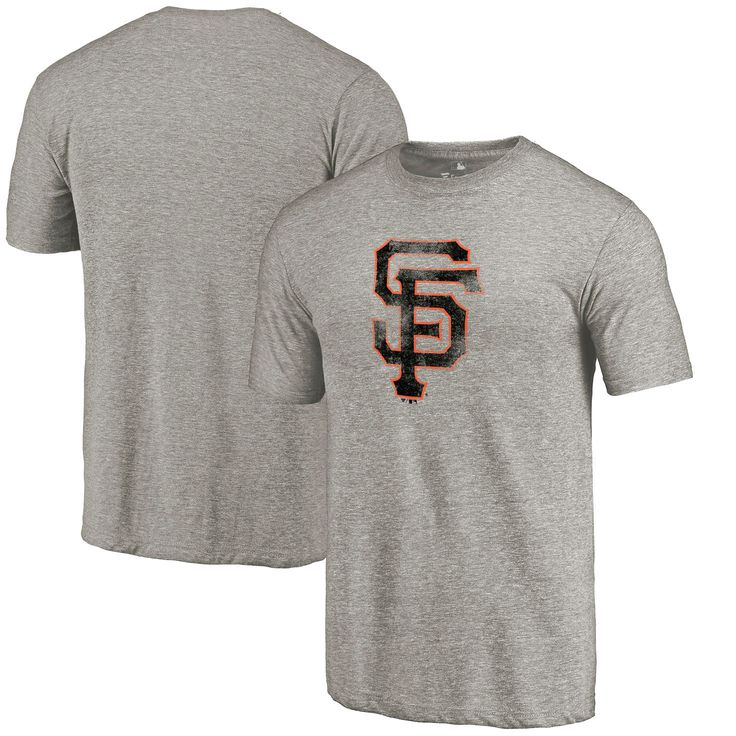 San Francisco Giants Team Tri-Blend T-Shirt - Heathered Gray - $26.39
