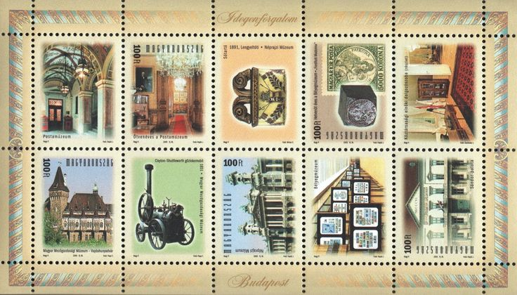 #3942 Hungary - Budapest Tourist Attractions M/S (MNH)