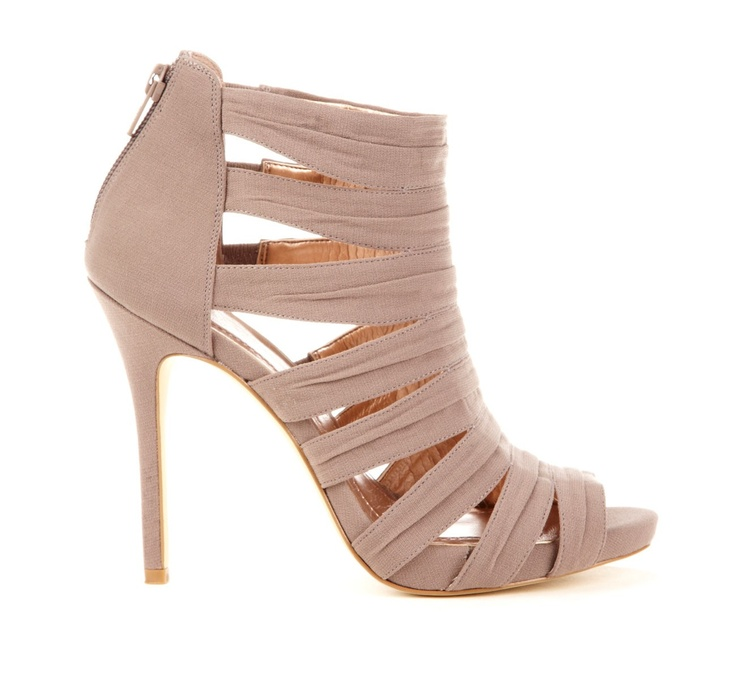 #Nude #Strappy #Booties - #Love