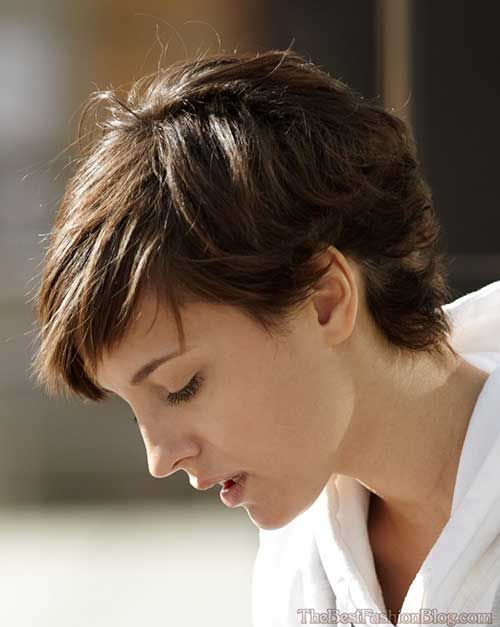 15 Pixie Cuts For Thick Hair Hairstyles Pinterest Short