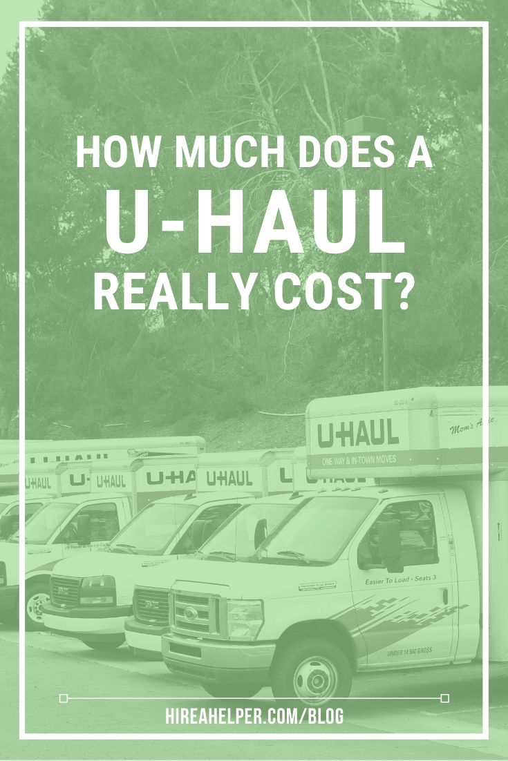 How Much Does A U Haul Really Cost We Found Out Cheapest Moving Truck Rental Moving Truck Rental Uhaul Truck