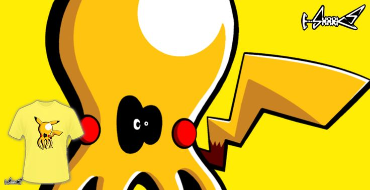 T-shirts - Design: Pikapoulpe - by: Super Poulpe