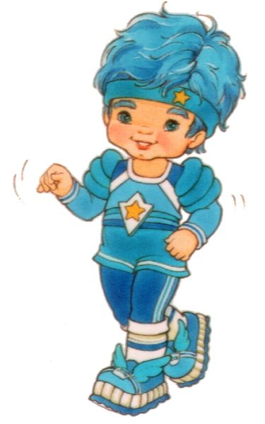 Buddy Blue - color kid - Rainbow Brite