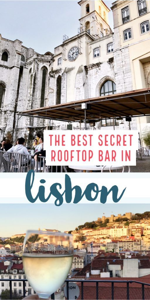 The Best Secret Rooftop Bar in Lisbon