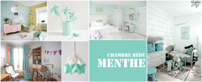 chambre menthe l 39 eau deco d co enfant pinterest pastel. Black Bedroom Furniture Sets. Home Design Ideas