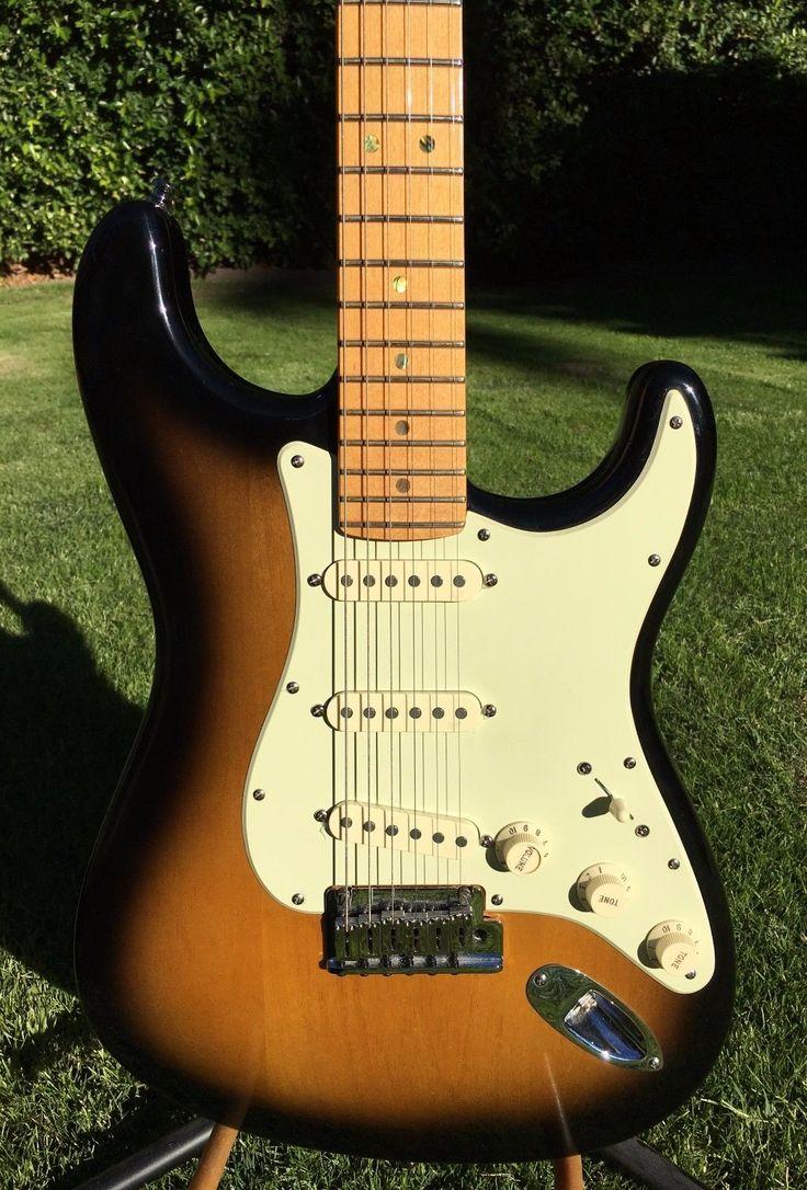 Fender American Deluxe Stratocaster Tabacco Sunburst Premium Ash Body