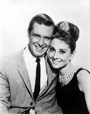 """Vintage Glamour Girls: Audrey Hepburn & George Peppard in """" Breakfast at ..."""