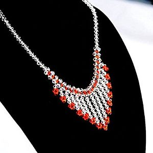 This is a beading and jewelry making kit for you to make this beautiful waterfall necklace. Learn how to string a necklace from this kit. Visit http://www.diyjewelrymaking.com/make-your-own-jewelry-with-diy-jewelry-making-kits/ #beading #beadingtutorial #tutorial #jewelrymaking #jewelry #handmadejewelry #handmade #diy #diyjewelry #diyjewelrymakingn