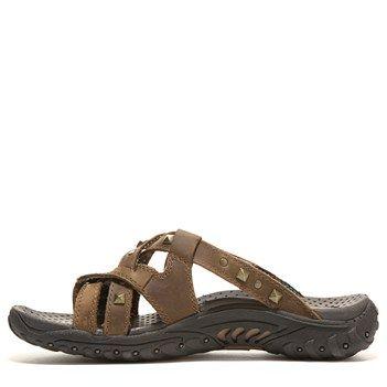 Skechers 48930 - Zapatilla Baja de Ante Hombre, Color Marrn, Talla 37.5 EU
