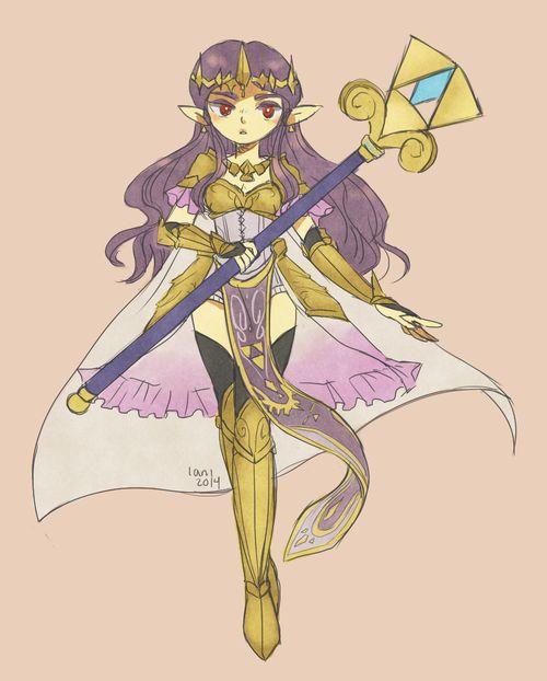 Queen Zelda's Master Quest Garb