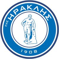 Iraklis 1908 PAE - Greece - Ηρακλής 1908 Π.Α.Ε. - Club Profile, Club History, Club Badge, Results, Fixtures, Historical Logos, Statistics