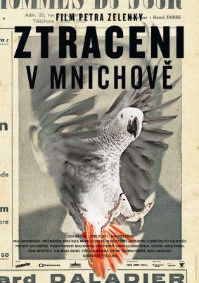 Aleš Najbrt, Plakát k filmu Ztraceni v Mnichově, poster, graphics, graphic design, #najbrt Zdroj: www.filmovaakademie.cz #design #czechdesign