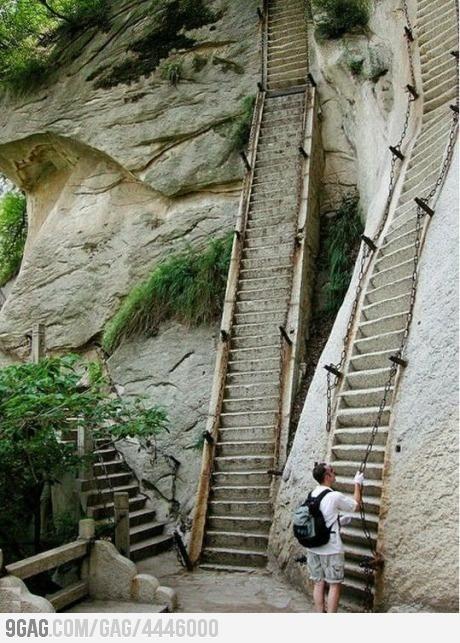 Mount Hua - Shaanxi Province, China