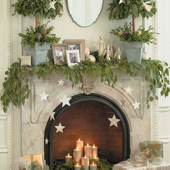 Festive Mantle And More Inexpensive Yuletime Decor Ideas