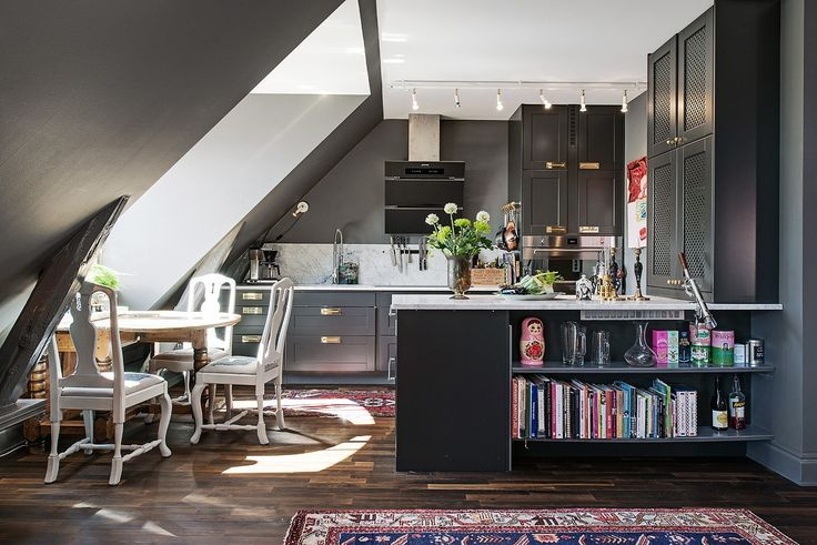 Style and Create — Colourful loft apartment in Gothenburg via Swedish...