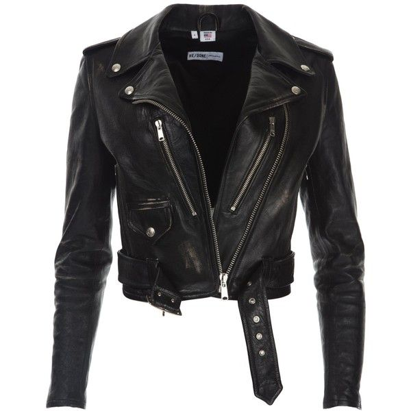 Leather Moto Jacket Vintage Black (115.230 RUB) ❤ liked on Polyvore featuring outerwear, jackets, genuine leather jackets, biker jackets, rider jacket, real leather jackets and vintage biker jacket