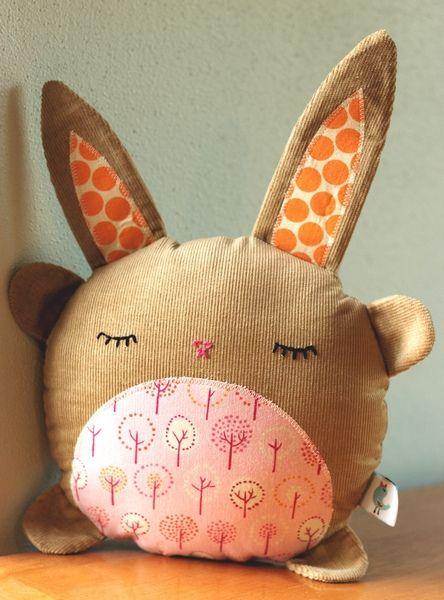 Inspiration : un lapinou tout rond.