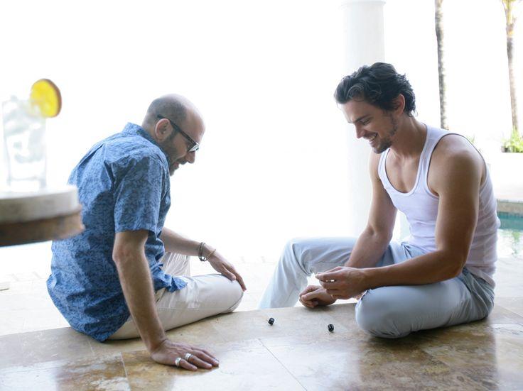Mozzie (Willie Garson) and Neal Caffrey (Matt Bomer) - White Collar  I love the dynamics of this show!