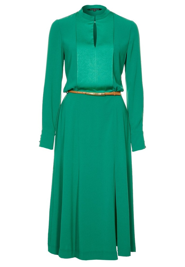 Prachtige smaragdgroene jurk van Tara Jarmon @ Zalando
