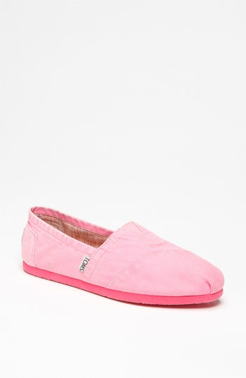 TOMS 'Palmetto Classic' Slip-On available at #Nordstrom, I  might need these cause they are pink!