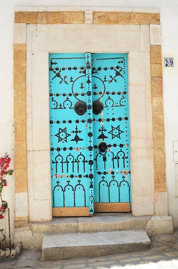 Tunisian door designs