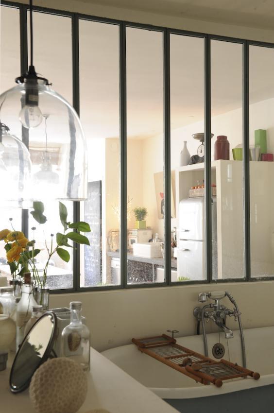 Zoé de las Cases loft in old garage, 17ème Arrondissement de Paris (pictures by Morten Holtum)
