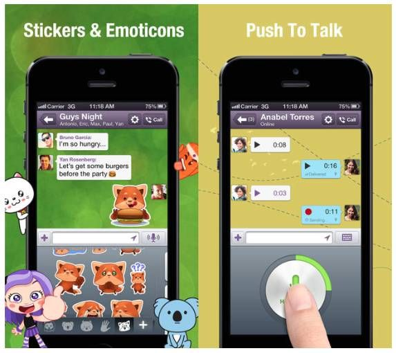 Viber 4.0 Now Available With Push-to-talk, and Many Major Features