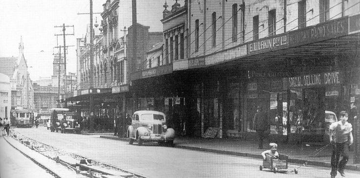 King Street, Newtown. 1932