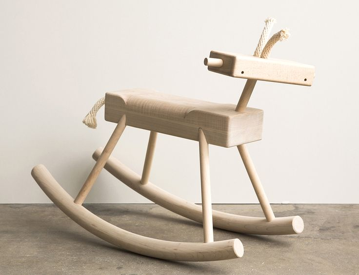 ROBOT MONKEY ROCKING HORSE by Monroe Workshop | http://shop.thedpages.com/products/robot-monkey-rocking-horse