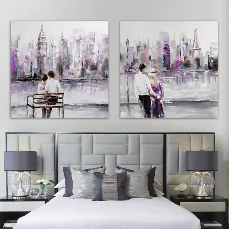 City New York Oil Painting On Canvas Wall Art For Living: 1000+ Images About People Art On Pinterest