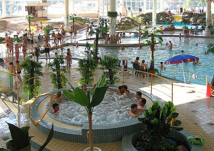 Serena water park in Espoo, Finland is the biggest indoor water park in Scandinavia; it also has an outdoor water park area.