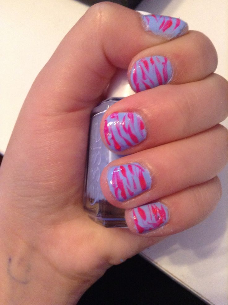 I did zebra this time!