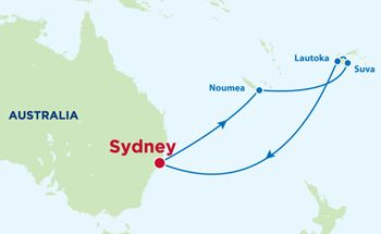 10 Night South Pacific Cruise on the Voyager of the Seas - Royal Caribbean