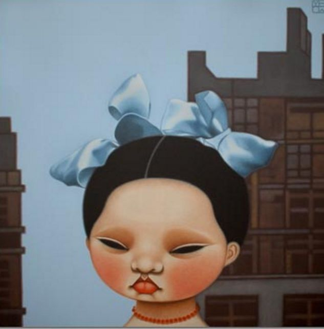 2008 BUTTERFLY IN THE BIG SMOKE, Poh Ling Yeow (b1973), a Malaysian-born Australian artist, actress and runner-up in MasterChef Australia | PIN made by RomANikki