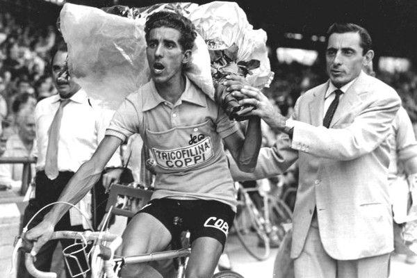 Les légendes du cyclisme. Bahamontes et Fausto Coppi