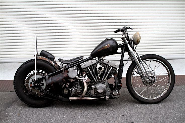 Old School Bobber Motorcycles | Old School Choppers