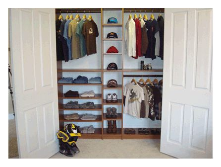 Kids Closets Design Children S Closet Organizer