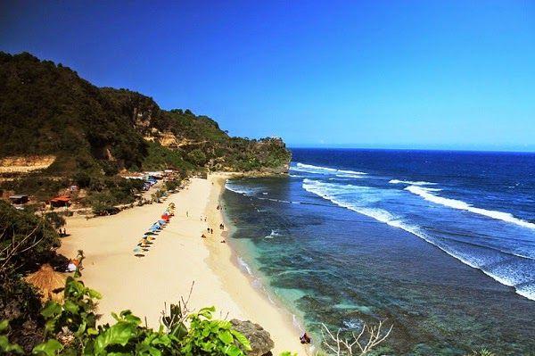 pantai pok tunggal wisata di yogyakarta